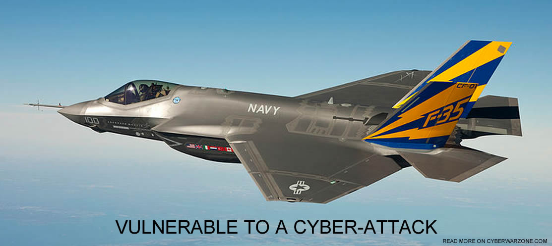 f-35 fighter jet is vulnerable to cyber-attacks