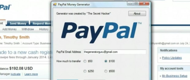 paypal value