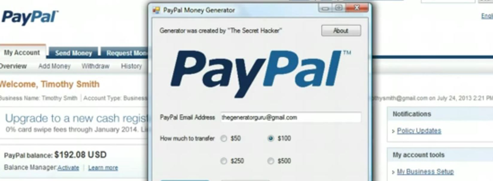 PayPal брут » happy-hack ru|HackTool