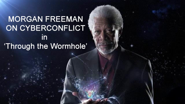 Morgan Freeman on Cyber Warfare