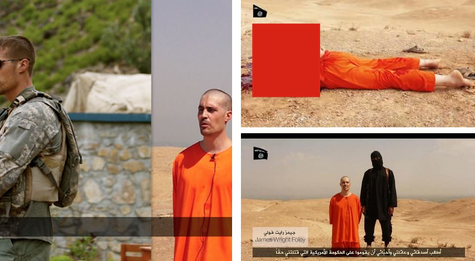 ISIL  Horrific video Message to America Obama Choose wisely !
