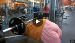 Larry Evans goes hard at fitness and the gym [Facebook Video]