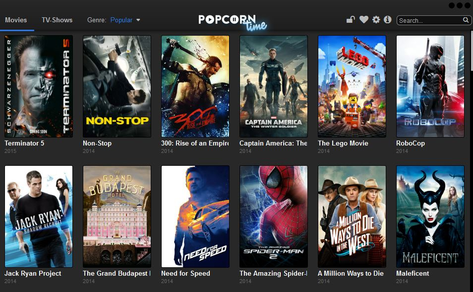 Free HD Movies Online Streaming - PopCorn Time - YouTube