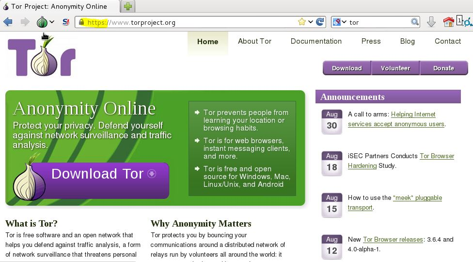 How to install TOR on Kali Linux | Cyberwarzone