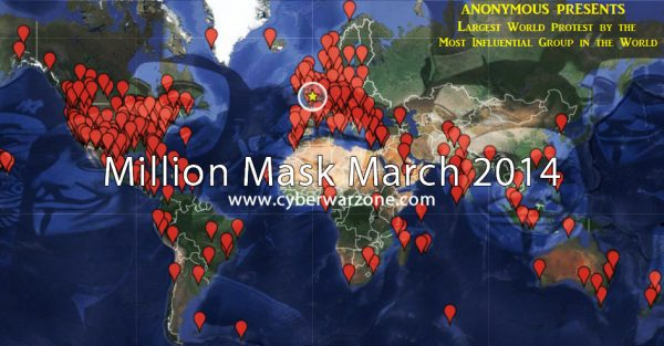 million mask march 2014