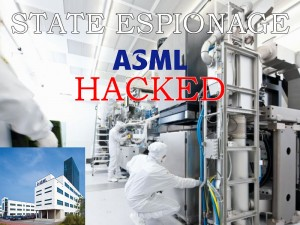 ASML hacked