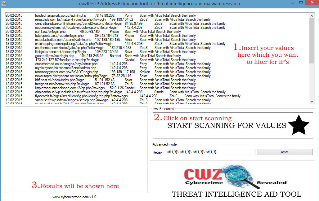 cwz-ip-filter-extraction-tool-for-threat-intelligence-and-malware-resaerch