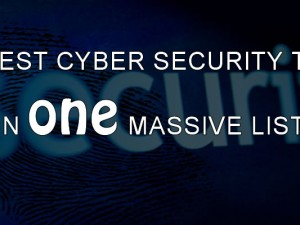 CYBER SECURITY TOOLS 2015
