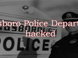 police hacked