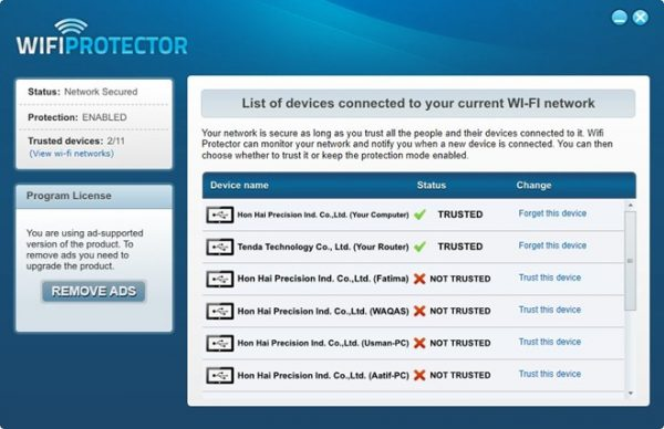 wifi protector application