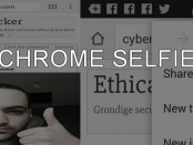 cHROME SELFIE tutorial