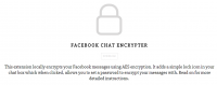 facebook chat encrypter