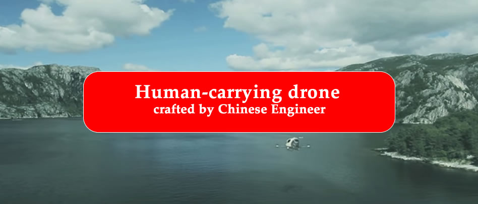 human-carrying drone