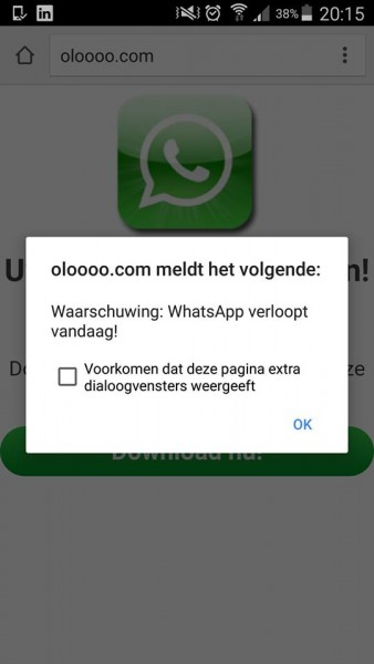 Whatsapp virus 2016 -1