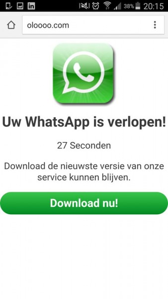 Whatsapp virus 2016