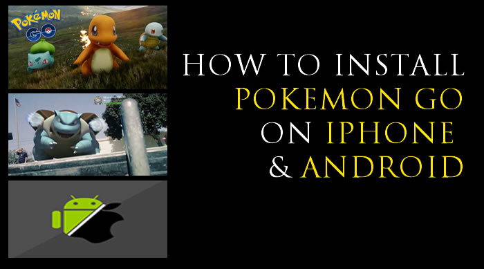 how to play pokemon on iphone how to install go on android and iphone safely 2429